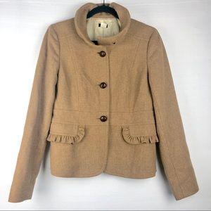 J. Crew Tan Blazer/Coat, 10.